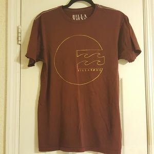 Billabong Burgundy Logo T-Shirt